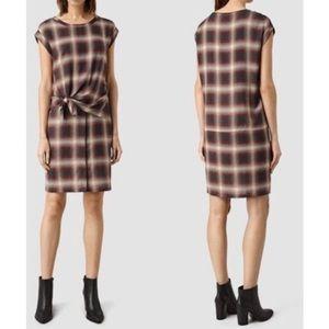 All saints heny check dress tunic